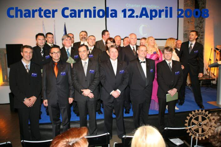 Charter Rotary Carniola