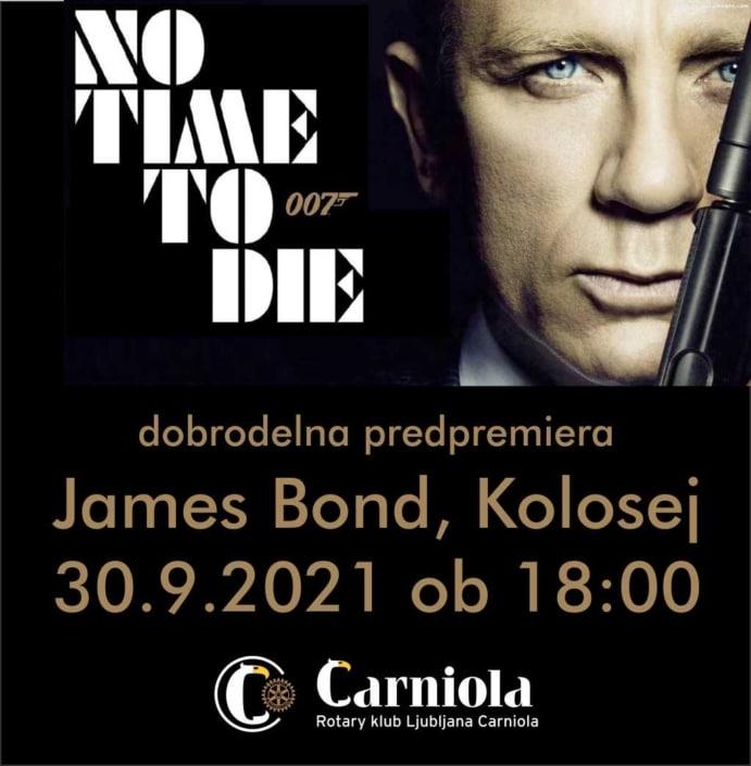 James Bond 25 No Time To Die - Kolosej 2021